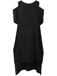 Barbara I Gongini Off Shoulder T Shirt Black