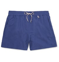 Loro Piana Mid Length Swim Shorts Blue