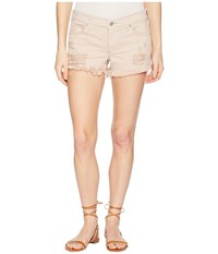 Lucky Brand The Cut Off Shorts In Light Pink Reyes Light Pink Reyes Beige