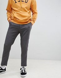 Weekday Arvid Tapered Trousers Grey Black