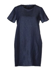 Adele Fado Dresses Short Dresses Women Blue