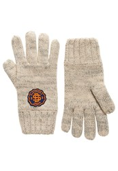 Superdry Super Twist Cable Gloves Cream