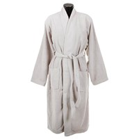 Hugo Boss Loft Bathrobe Greige Grey