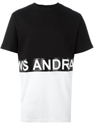 Andrea Crews 'Zero' T Shirt Black