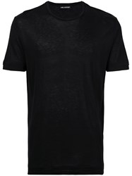 Neil Barrett Travel T Shirt Men Viscose S Black