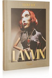 Rizzoli Lanvin I Love You By Alber Elbaz Hardcover Book Gray