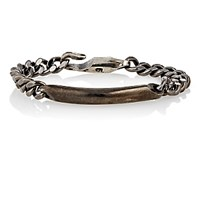 Giles And Brother Men's Id Chain Bracelet Silver