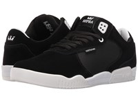 Supra Ellington Black Suede White Men's Shoes