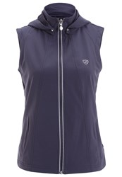 Limited Sports Valerie Waistcoat Grisaille Blue Grey