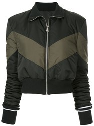 Maggie Marilyn Conquer Your Fears Puffer Jacket Black
