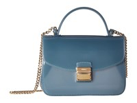 Furla Candy Sugar Mini Crossbody Dolomia Cross Body Handbags Blue
