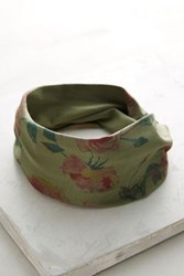 Anthropologie Melanthe Turban Headband Green