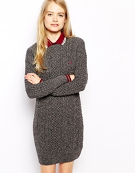 Fred Perry Jumper Dress Grey
