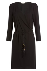 Vanessa Bruno Dress With Braided Belt Black