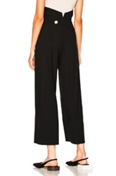 Jacquemus High Waisted Pant In Black