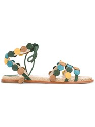 Paloma Barcelo Strappy Flat Sandals