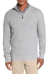 Peter Millar Men's Mountainside Wool Blend Quarter Zip Sweater