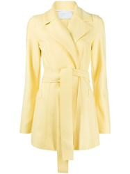 Harris Wharf London Knitted Belted Jacket 60