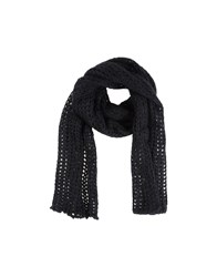 Liviana Conti Accessories Oblong Scarves Women Black