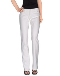Pause Denim Denim Trousers Women White