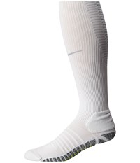 Nike Grip Strike Cushioned Otc White Wolf Grey Wolf Grey Knee High Socks Shoes Gray