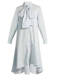 Osman Perfect 5 Pabita Cotton Shirtdress Light Blue