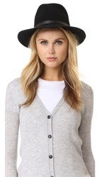 Rag And Bone Floppy Brim Fedora Black