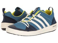 Adidas Terrex Climacool Boat Core Blue Chalk White Bright Yellow Men's Shoes