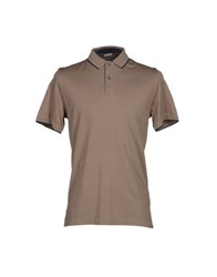 Heritage Topwear Polo Shirts Men Dove Grey