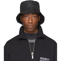Misbhv Black Sketches Of Ibiza Bucket Hat