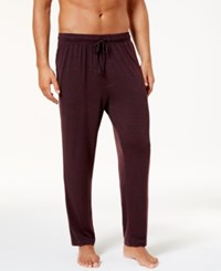32 Degrees Men's Heat Plus Pajama Pants Bordeaux 2 Tone