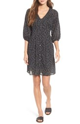 Velvet By Graham And Spencer Printed Cotton Voile Dress Toucan