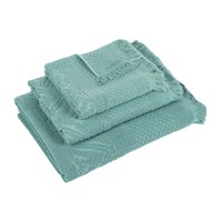 Vivaraise Zoe Towel Green Grey Bath Towel