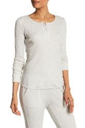 Soft Joie Long Sleeve Thermal Shirt Gray