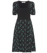 Valentino Floral Dress Black