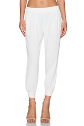 Joie Mariner Crop Pant White