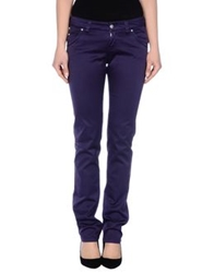 Re Hash Casual Pants Purple