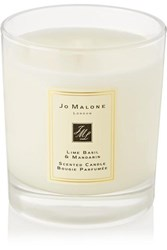 Jo Malone London Lime Basil And Mandarin Scented Home Candle Colorless