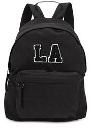Joshua Sanders La Black Jersey Backpack