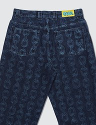 Polar Skate Co. Iggy X 93 Denim Pants Blue