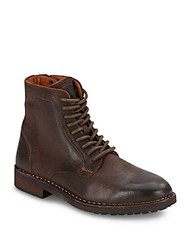 Steve Madden Leather Ankle Boots Brown