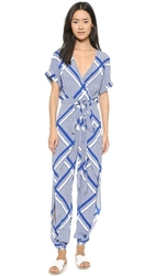 Sass And Bide Tigers And Lions Jumpsuit Print