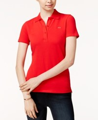 Armani Exchange Short Sleeve Polo Shirt Absolute Red