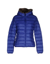 Miss Miss By Valentina Down Jackets Blue
