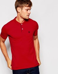 Selected Homme Pique Polo Shirt Truered