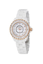 Stuhrling Women's Fusion 530S2 Quartz Watch White