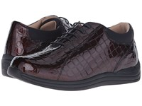 Drew Shoe Tulip Brown Croc Women's Shoes
