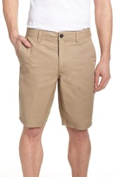 O'neill Jay Chino Shorts Light Khaki