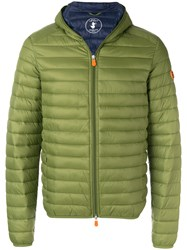 Save The Duck Light Down Jacket Green