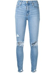 Nobody Denim Cult Skinny Fit Jeans Blue